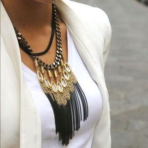 Stella & Dot NWOT Fringe Necklace